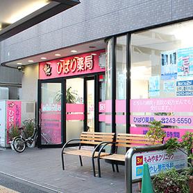 ひばり薬局 浦舟店の薬局写真